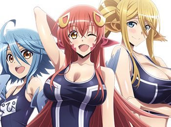 Monster-Musume-Pool-OVA-Visuals-Revealed