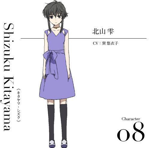 Mahouka-Koukou-no-Rettousei-Hoshi-wo-Yobu-Shoujo-Character-Design-Shizuku-Kitayama