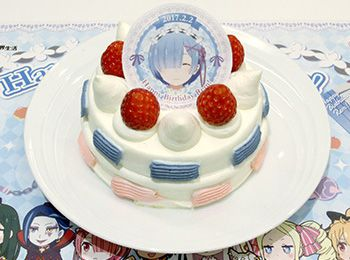 Re-Zeros-Rem-Had-a-Limited-Edition-Cake-for-Her-Birthday