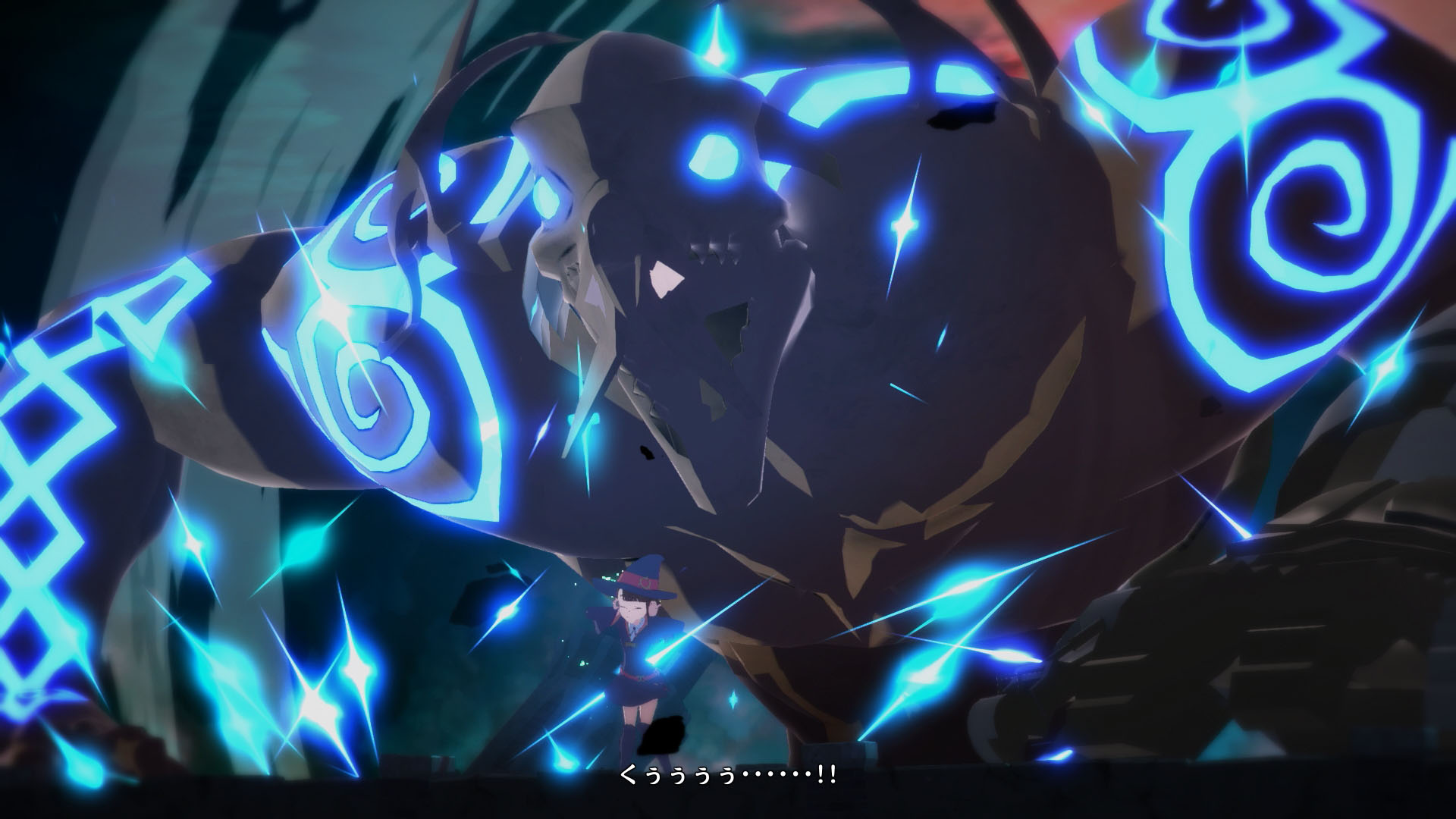 Little Witch Academia The Witch of Time and the Seven Wonders Updated Screenshots 05