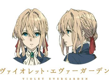 Violet Evergarden Anime Cast & Character Designs Revealed