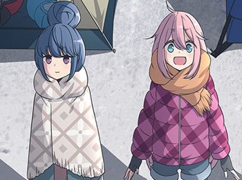 Yuru-Camp-TV-Anime-Visual,-Cast-&-Character-Designs-Revealed