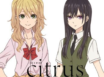 Yuri-Anime-Citrus-Premieres-January-6---Character-Designs-&-Theme-Songs-Revealed
