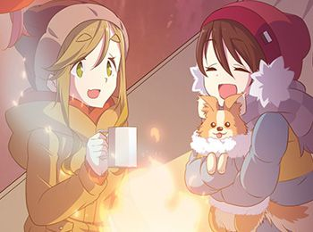 Additional-Cast-Members-Revealed-for-Yurucamp-TV-Anime