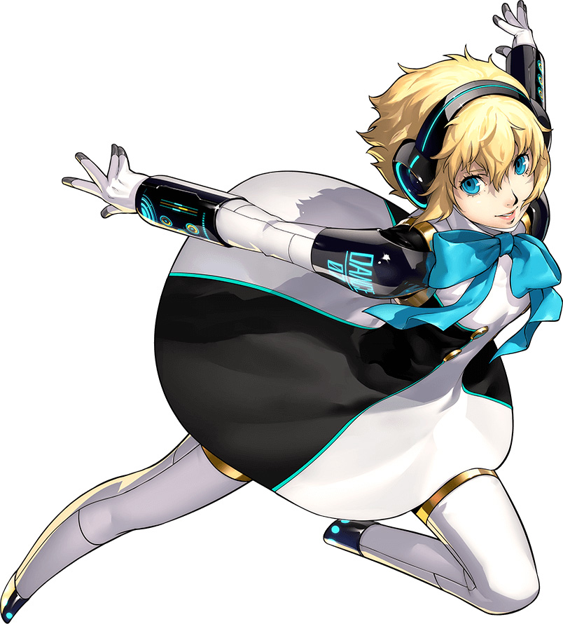 Persona 3 Dancing Moon Night-Character-Visual-Aigis