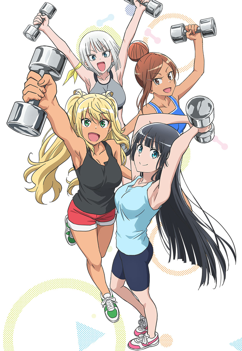 Dumbbell-Nan-Kilo-Moteru-Anime-Visual