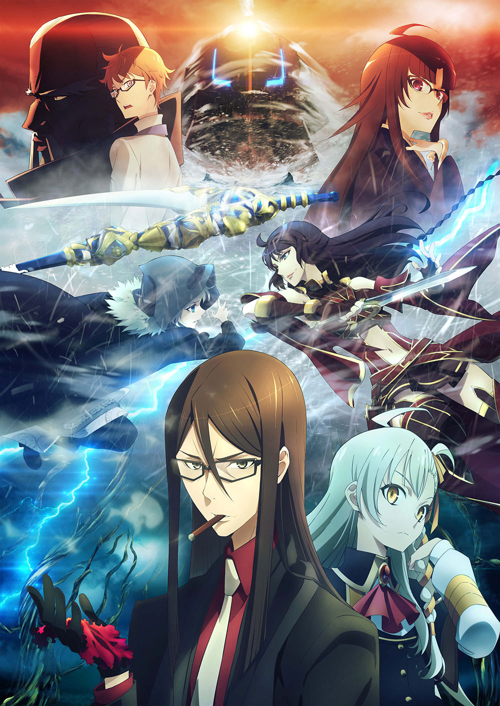 Lord-El-Melloi-II-Sei-no-Jikenbo-Rail-Zeppelin-Grace-Note-Visual