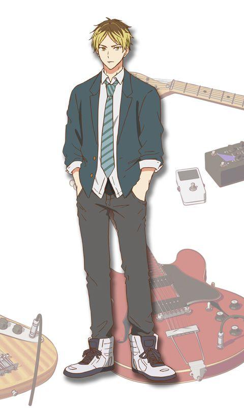 Given-Anime-Character-Designs-Hiiragi-Kashima