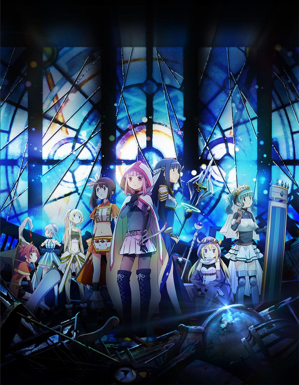 Magia-Record-Mahou-Shoujo-Madoka-Magica-Gaiden-Anime-Visual