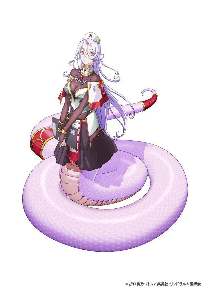 Monster-Musume-no-Oishasan-Character-Design-Saphentite-Neikes