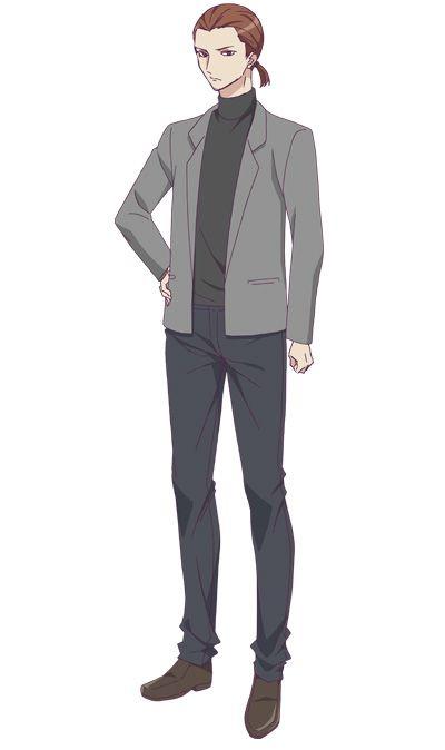 Runway-de-Waratte-Anime-Character-Designs-Hazime-Yanagida
