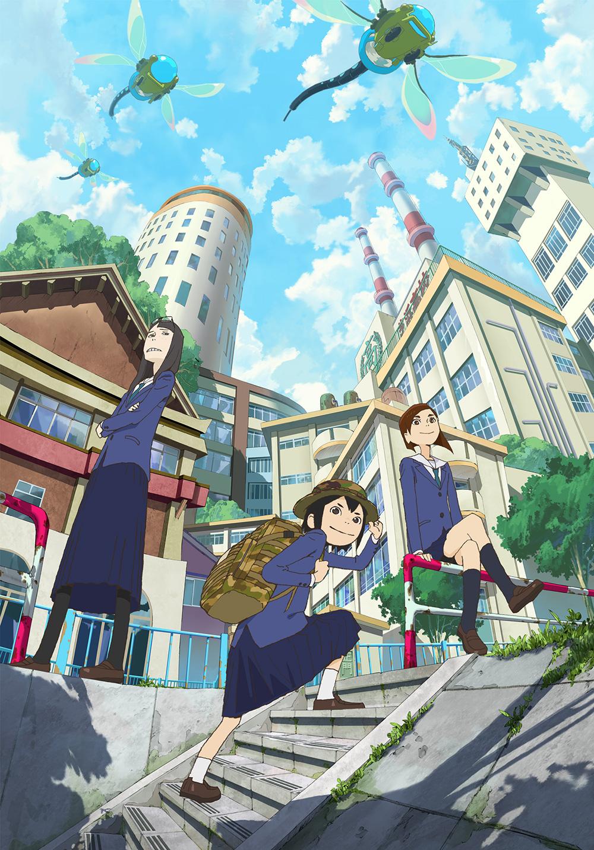 Eizouken-ni-wa-Te-wo-Dasu-na!-Anime-Visual