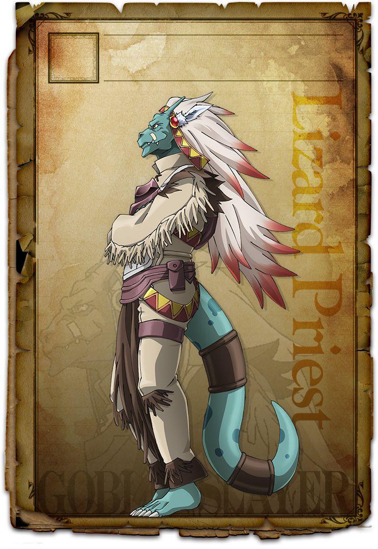 Goblin-Slayer-Anime-Character-Designs-Lizardman