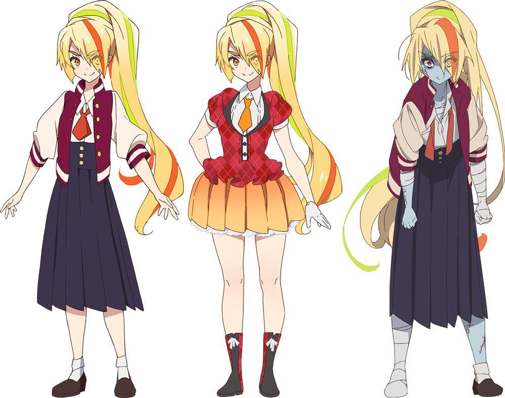 Zombieland-SaZombieland-Saga-Character-Designs-Saki-Nikaidouga-Character-Designs-Lily-Hoshikawa