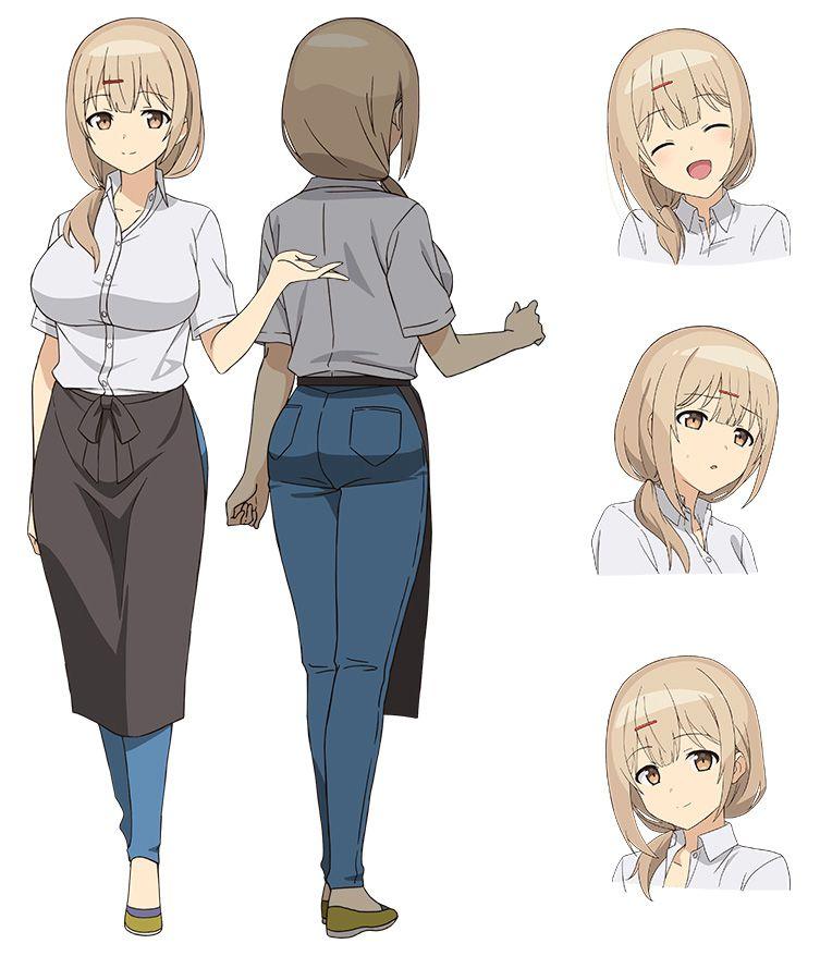 Jahy-sama-wa-Kujikenai-Anime-Characters-Designs-Store-Manager