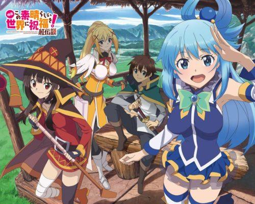 New-Kono-Subarashii-Sekai-ni-Shukufuku-wo!-Anime-Announced