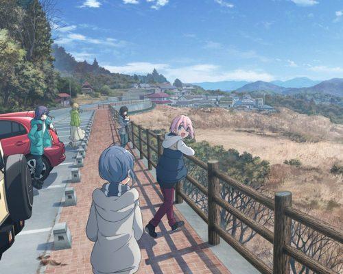 Yurucamp Anime Movie Visual, Cast & Staff Revealed